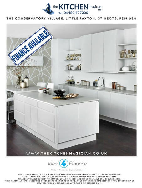 Finance at Kitchens St Neots