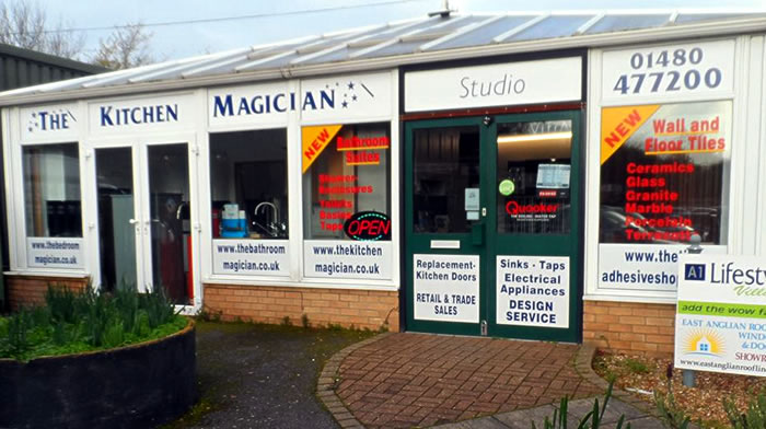 The Kitchen Magician, Conservatory Village, Little Paxton, St Neots Cambridgeshire